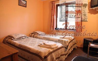 LE BOSCO SPRL - Chambre standard 2 lits jumeaux